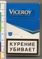 An Empty Box Of Cigarettes Viсeroy - St. Petersburg - 2014 - Boites à Tabac Vides