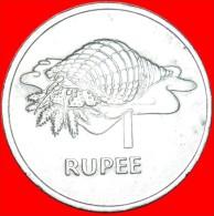 § TRITON SHELL: SEYCHELLES ★ 1 RUPEE 1977! LOW START★NO RESERVE! - Seychelles