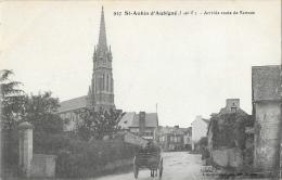 St-Aubin D'Aubigné (Ille-et-Vilaine) - Arrivée Route De Rennes - Edition R. Mary-Rousselière - Carte N°937 - Autres Communes