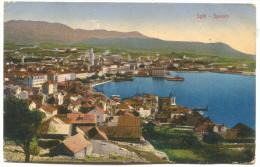 SPLIT Spalato - Dalmatia  Croatia, 1915. K.u.K. Seal Leitmeritz, STENGEL & Co. - Croatie