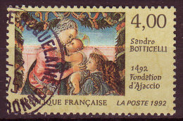 FRANCE - 1992 - YT  N° 2754  - Oblitéré - Botticelli - France