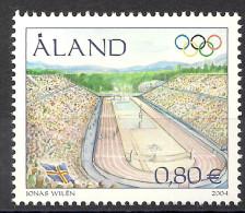 2004 Aland Mi. 240 **MNH   Olympische Sommerspiele, Athen. - Aland