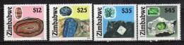 Zimbabwe 2002 Gemstones.Minerals.MNH - Zimbabwe (1980-...)