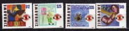 Zimbabwe 2002 The 5th Anniversary Of Childline In Zimbabwe.MNH - Zimbabwe (1980-...)