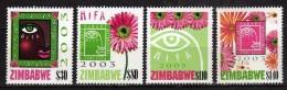 Zimbabwe 2003 Harare International Festival Of The Arts.MNH - Zimbabwe (1980-...)