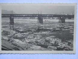 1930 Alois Schawarz Photograph  Fiume River Ponte Bridge - Linz Urfahr