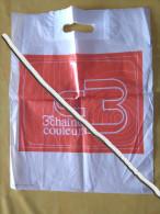 Poche Plastique ORTF / 3° Chaine Couleur - Merchandising