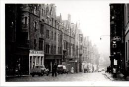 Edinburgh - St. Marys Street, The Waverly Bar 1956 Privataufnahme Private Postcard - Ohne Zuordnung