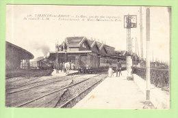 TARASCON : La Gare Réseau PLM, Embranchements De Nimes Remoulins Saint Rémy. 2 Scans. Edition L A - Tarascon