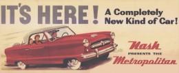 @@@ MAGNET - Nash Metropolitan - Publicitaires