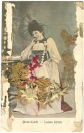 Echte Edelweiss Und Schöne Frau Auf AK Mit Fehler 1905 Burgdorf - ZH Zürich