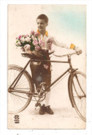 Cycliste Et Son Vélo-(B.1226) - Cyclisme