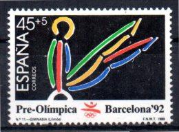 ESPAGNE   N°  2642  * *    Jo 1992  Gymnastique Arcon - Gymnastik