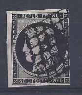 France Cérès 1849 N°3a Cote 65€ - 1849-1850 Cérès