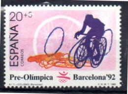 ESPAGNE   N°  2612  * *    Jo 1992  Cyclisme - Ciclismo