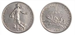 RARE FDC : 1 Franc Semeuse De 1996 Neuve Et Scellée - France