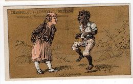 Chromo Mercerie, Bonneterie, Chemises, Champillou & Leoman, Orléans : Aux Colonies ( Zouave, Africain ) - Autres