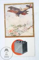 1924 Tudor Batteries Spanish Advt Leaflet From The International Car Exhibition - Otros