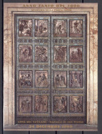 Anno Santo 2000 Very Fine Used Block Michel #  1303 - 1318 (v14) - Blocs & Feuillets