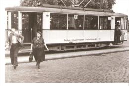 Photo Originale-Foto Tram Strassenbahn Tramway-Linie-6-Bochum-Gelsenkirchen-Gelsenkirchener Strassenbahnen A.6 111 - Eisenbahnen