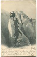 GRINDELWALD Auf Dem Gletscher Mit Leben Gabler 1900 Nach Dänemark - BE Bern