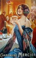 @@@ MAGNET - Champagne Mercier - Publicitaires