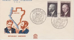 Gabon; FDC 1959 - Gabón (1960-...)
