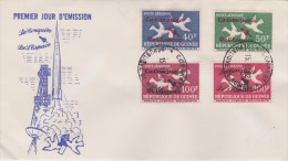 Guinea; FDC 1962 - SPACE - Guinea (1958-...)
