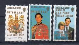 BELIZE   Série De Timbres  Neufs ** De 1982  ( Ref 2345 ) - Belize (1973-...)