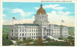 ETATS UNIS - South DAKOTA State Capitol - PIERRE SO. DAK. - Etats-Unis