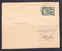 EXTRA10-16  COVER LETTER FROM MOSCOW TO WIEN. 03.09.1932.