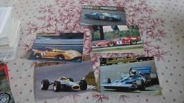 5X KOERS AUTO VOITURE DE COURSE Grnd Prix L1823 - Grand Prix / F1