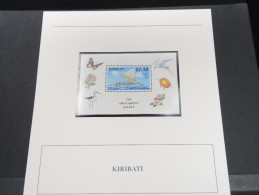 KIRIBATI -  Bloc Luxe Avec Texte Explicatif - Belle Qualité - À Voir -  N° 11606 - Kiribati (1979-...)