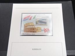 KIRIBATI -  Bloc Luxe Avec Texte Explicatif - Belle Qualité - À Voir -  N° 11607 - Kiribati (1979-...)