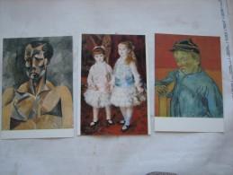 AK 622 Von Courbet Bis Picasso – Schätze Des Museums Sao Paulo (MASP) – Städtische Kunsthalle Mannheim 1988 - 1989 - Museen