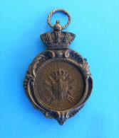 ITALY ROWING CHAMPIONSHIP 1925. SANTA MARGHERITA LIGURE GENOVA Antique Medal * Aviron Rudersport Rudern Canottaggio FISA - Aviron