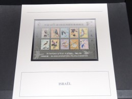 ISRAEL -  Bloc Luxe Avec Texte Explicatif - Belle Qualité - À Voir -  N° 11622 - Hojas Y Bloques