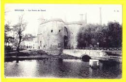 * Brugge - Bruges (West Vlaanderen) * (N 25) La Porte De Gand, Gentse Poort, Pont, Brug, Bridge, Canal, Rare, Old, CPA - Brugge