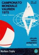 LIVORNO ITALY  WORLD CHAMPIONSHIP SAILING POST CARD N°1202   (M160123-26) - Vela