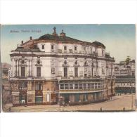 VCYTPA3729-LFTD10469.Tarjeta Postal De VIZCAYA.Edificios,personas,calles Y TEATRO ARRIGA En BILBAO - Vizcaya (Bilbao)