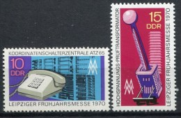 LOTE 447  ///  ALEMANIA DDR 1970  -  YVERT Nº: 1244/1245   MNH**          LIQUIDATION!!!!!!!!! - Unused Stamps