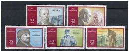 LOTE 447  ///  ALEMANIA DDR 1970  -  YVERT Nº: 1250/54   MNH**          LIQUIDATION!!!!!!!!! - Unused Stamps