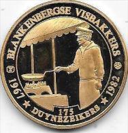 175 DUYNEZEIKERS 1967 - 1982 BLANKENBERGSE VISBAKKERS - Jetons De Communes
