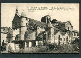 CPA - OLORON SAINTE MARIE - Eglise Ste Croix - Oloron Sainte Marie