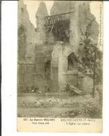 Visé Paris 437 - J.Courcier- Aix-Noulette. L' église En Ruines - 2 Scans - Altri Comuni
