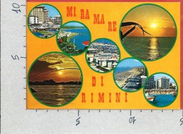 CARTOLINA NV ITALIA - MIRAMARE DI RIMINI - Panorama - Vedutine - 10 X 15 - Rimini