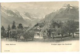 FRUTIGEN Gegen Kindertag Hôtel Bellevue Um 1904 - BE Berne