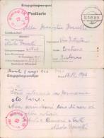 Pr70 -  - Prigioniero Di Guerra - Power Camp- Germania Per Contone-salerno - Guerre 1939-45