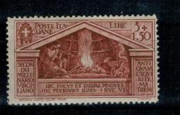 REGNO 1930 VIRGILIO 5 + 1,50 Lire INTEGRA  PO **MNH ALTA QUALITA´ - 1900-44 Vittorio Emanuele III