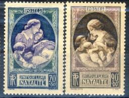 Francia 1939 Serie 440-441 Pro Natalità MNH GO Catalogo € 16 - Francia